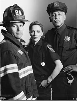 First Responders - Black and White